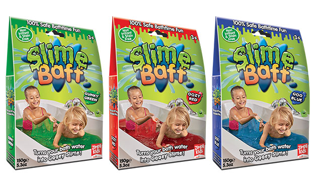 Slime Baff Colour Range