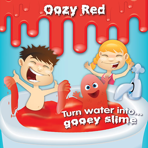 Oozy Red Slime Baff